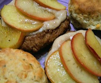 Pork Chops With Fried Apples