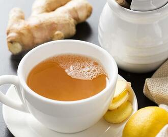Ginger Tea| Ginger Honey Lemon Tonic for Cold