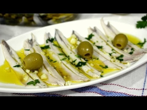 Boquerones en vinagre | Blanquitos y duritos | Video nº 68