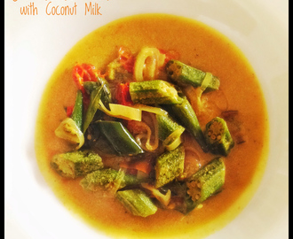 Sri Lankan Okra Curry with Coconut Milk