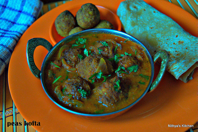 PEAS KOFTA/MATAR KOFTA CURRY/SIDE DISH FOR ROTI