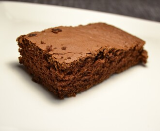 Bizcocho de chocolate en thermomix.