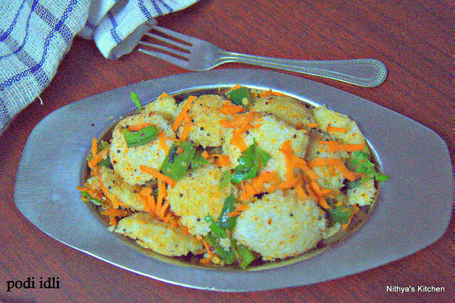 PODI IDLI/KIDS RECIPES