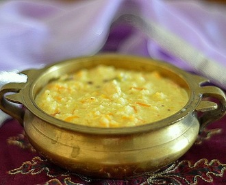 Foxtail Millet (thinai) carrot kheer /payasam - easy dessert recipes