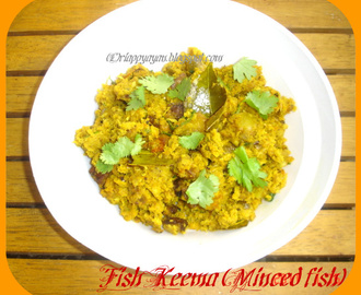 Fish Keema(Minced fish cooked with potatoes)