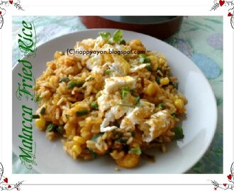 Malacca Fried Rice - A Delicious Leftover Option