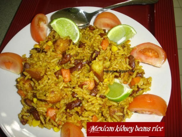 Mexican Kidney Beans Rice