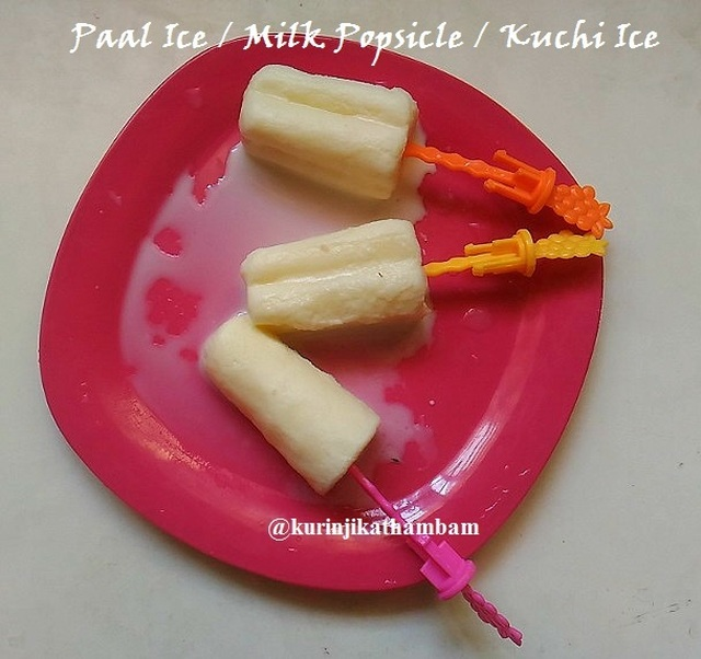 Paal Ice / Milk Ice / Milk Popsicle