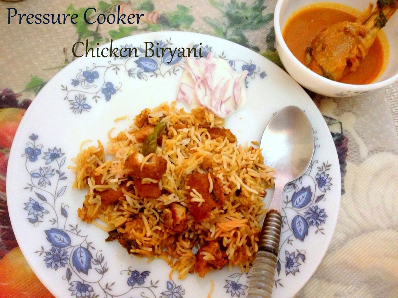 Chicken Biryani ~ Pressure Cooker Method