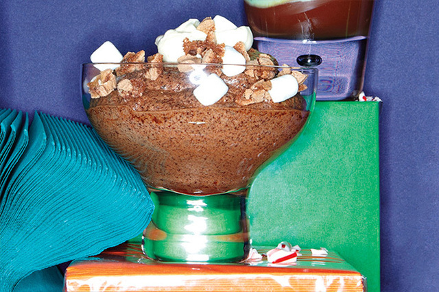 "Cold ""Hot Chocolate"" Trifle"