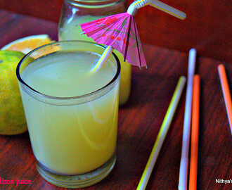 SWEET LIME JUICE/SUMMER DRINKS