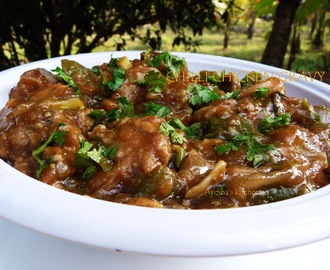 CHILLI CHICKEN GRAVY RECIPE - RESTAURANT STYLE INDO CHINESE CHILLI CHICKEN RECIPE