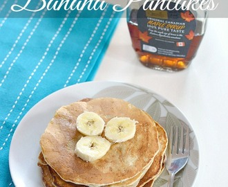 Banana Pancakes (Egg-less)