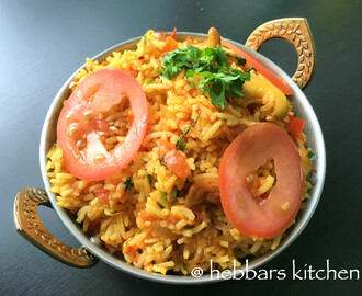 tomato rice | tomato bath | south indian tomato rice recipe