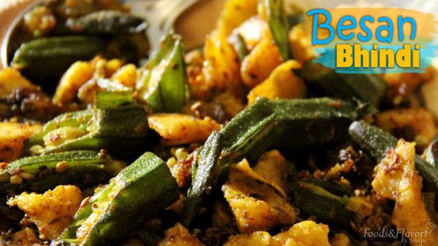 Besan wali Bhindi / Besan Bhindi Masala Recipe – lady fingers recipes