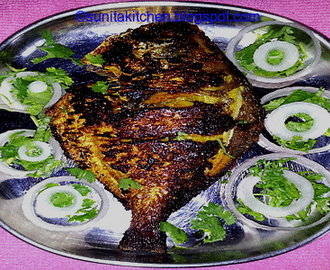 Pomfret Fish Fry Masala Recipe