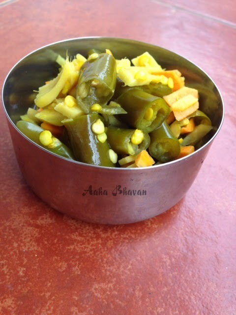 Ginger Chilli Pickle