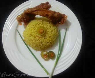 Mutton Kodi (Gravy) with Pulao