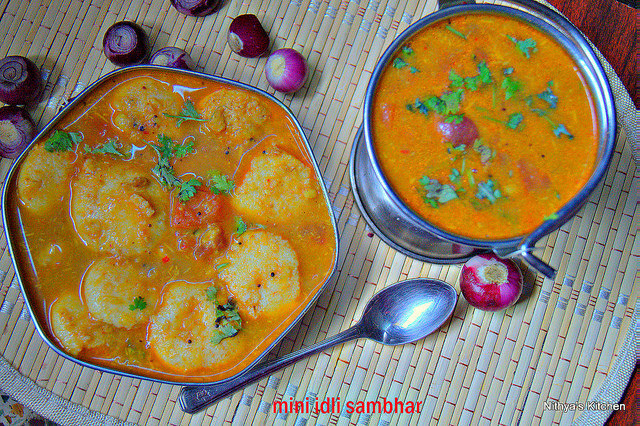 MINI IDLI SAMBHAR
