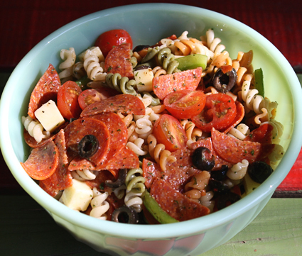 Zesty Italian Pasta Salad Recipe