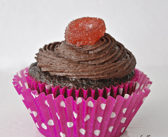 Valentine's Day Recipes: Chocolate Orange Cupcakes