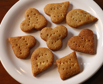 Rava & Wheat Flour Mathri Recipe (Salted Crackers Recipe)