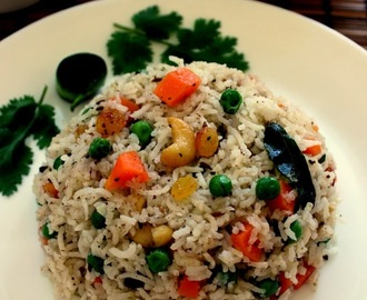 Recipe of Gujarati Pulav| How to Make Vegetable Pulao