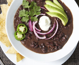 Best Black Bean Soup NY Times