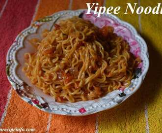 Yippee Noodles Masala Recipe, How to Make Yippee Noodles Recipe