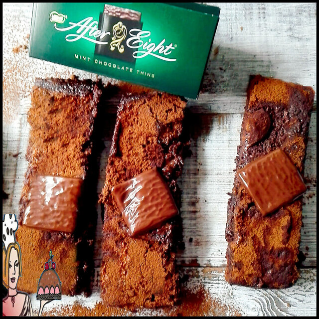 Brownies de After Eight ♥♥♥