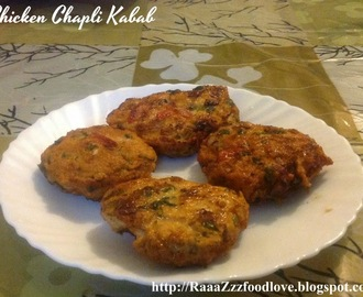 Chicken Chapli Kabab Recipe | How to Make Chicken Kabab