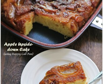{Happy Call Pan Version} Apple Upside-down Cake