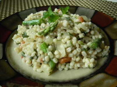 Toasted Barley Risotto With Fennel and Asparagus….