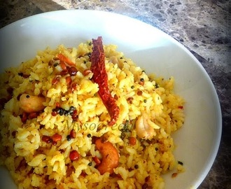 Kayi Sasive Anna - Rice with Mustard and Coconut