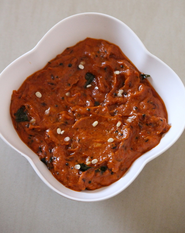 Tomato Pickle Recipe Andhra Style, How To Make Tomato Pachadi