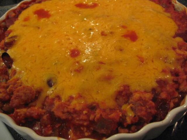 Mexican Chicken & Bean Casserole