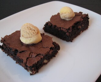 Brownie con ingrediente secreto