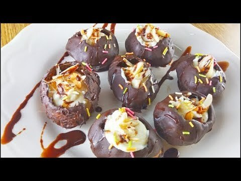 chocolate panipuri recipe at home | how to make chocolate golgappa | chocolate puchka recipe
