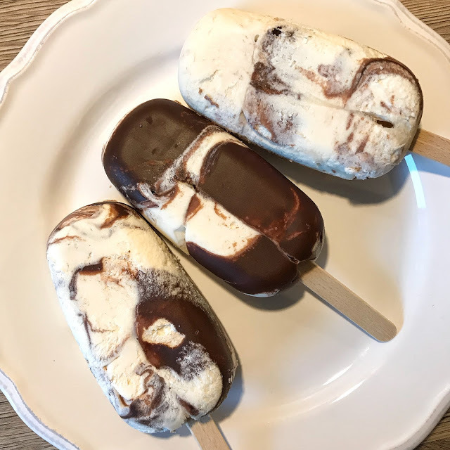 Nougat-Sahne-Eis zuckerfrei / Low Carb