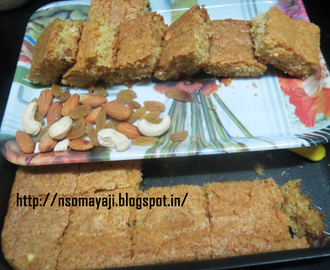Dry Fruits  Cake (Without Egg)