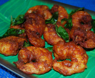 Eral Varuval (South Indian Prawn Fry)