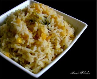 Hyderabadi Kichadi / Rice Kitchadi