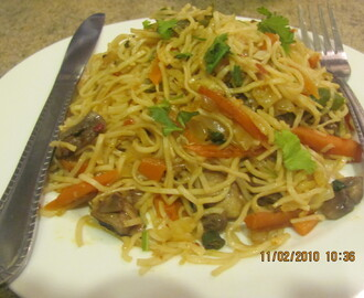 Veg Noodles in my version