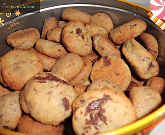 Cookies de chocolate y nueces (preparación thermomix)