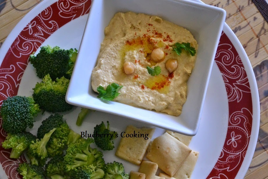 Hummus - With Homemade Tahini Recipe