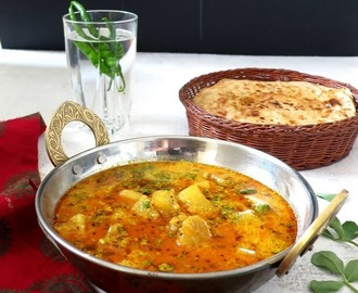 Shakarkand Ki Subzi /Sweet Potato Curry