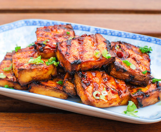 Grilled Tofu With Chipotle-Miso Sauce Recipe