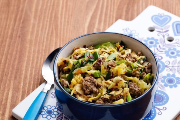 Asian Cabbage Stir-Fry