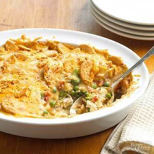 Hot and Cheesy Chicken Casserole