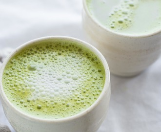 Fat Burning Matcha Latte